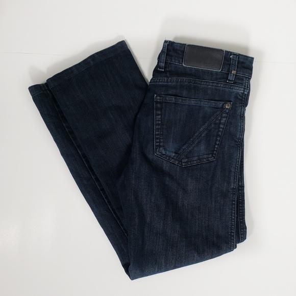 a49c226e Z Zegna Mens Jeans Straight Fit Dark Wash